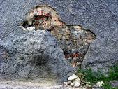 Cracked wall — Stock Photo