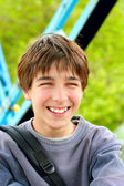 Smiling teenager — Stock Photo