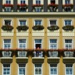 Hotel facade in Karlovy Vary — Stock Photo #1303292