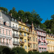 Karlovy Vary House Facades — Stock Photo #1303313