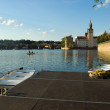 Summer evening on Vltava — ストック写真