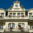 Karlovy Vary hotel facade — Stock Photo #1313360