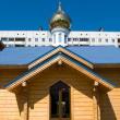 Russian orthodox chapel — Stock Photo