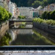 Karlovy Vary city landscape — Stock Photo #1321948