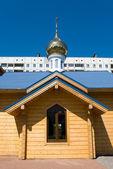 Russian orthodox chapel — Stock Photo