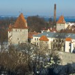 Old Tallinn panorama — Stock Photo