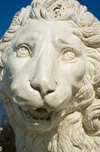 Escultura de leão — Fotografia Stock
