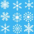 Royalty-Free Stock Immagine Vettoriale: Snowflakes set.