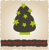 Noel ağacı. — Stok Vektör