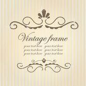 Quadro do vintage. — Vetorial Stock