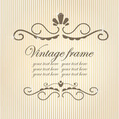 Quadro do vintage. — Vetorial Stock