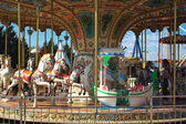 Carousel vintage horse from a Merry-go-round — Stock Photo
