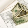 House made of money - Foto Stock
