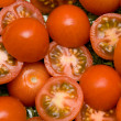 Foto Stock: Tomato salad closeup