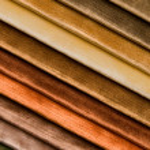 Gentle colors of velvet fabric — Stock Photo