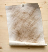 Grunge dirty sheet of paper — Stock Photo