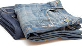 Paar jeans — Stockfoto