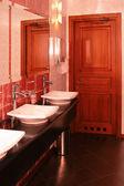 роскошь туалетная комната — Стоковое фото