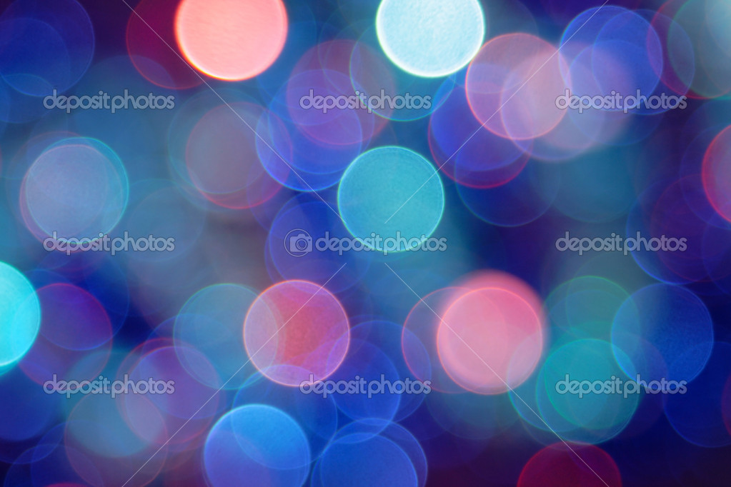Colored blurred lights can serve as background — Stock Photo #1305750