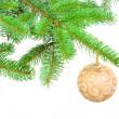 decorazione nuovo anno — Foto Stock