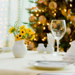 Stock Photo: Holiday dining