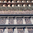 Metal rails — Stock Photo #1404312