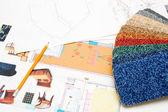 Design planer — Stockfoto