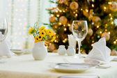 Sala de jantar do feriado — Foto Stock