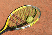 Tennis-racket — Stock Photo