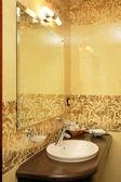 Banheiro de hotel — Foto Stock