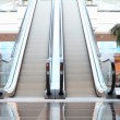 Escalator in shop in motion — Stock Photo #2109657