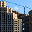 Stock Photo: Concrete Highrise Construction Site