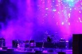 Konsert scenen — Stockfoto