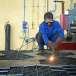 Stock Photo: Metal worker