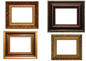 Collection of picture frames — Foto de Stock