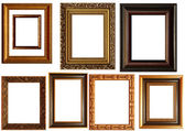 Collection of picture frames — Stock Photo