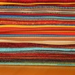 Colorful fabrics - 图库照片