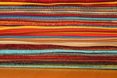 Colorful fabrics — Foto Stock