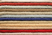 Colored carpet catalog — Stock Photo