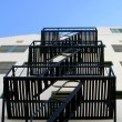 Fire Escape Stairs — Stock Photo