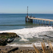 Carpinteria Pier — Stock Photo
