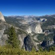 Half Dome Nevada Falls Vernal Falls — Stock Photo