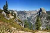 Yosemite Half Dome — Stock Photo