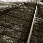 Railroad Tracks — Stock Photo #1409372