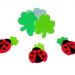 Lucky Ladybugs — Stock Photo
