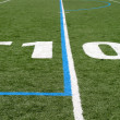 Football Field Ten — Stock Photo