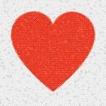 Heart Mosaic Octagons — Stock Photo #1742608