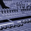 console de mixage — Photo