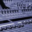 consola de mezcla — Foto de Stock