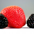 Stock Photo: Strawberry Blackberry